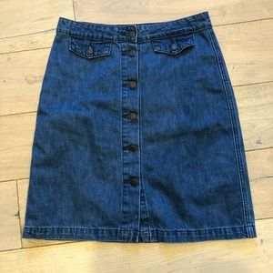 Old navy jean skirt, size 6